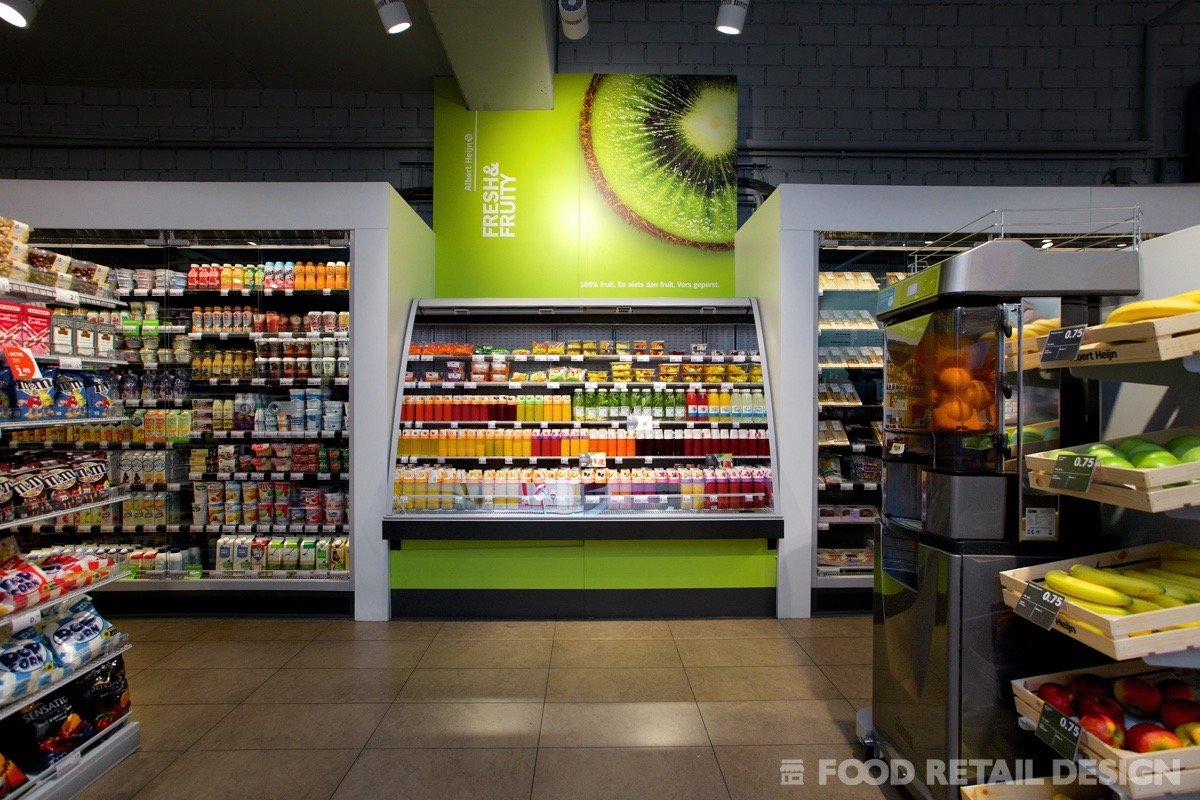 Redesign AH to go food retail concept store